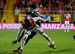 Atlético Nacional venció como visitante 4-1 (5-2 en el global) a Independiente Santa Fe. Semifinales de la Copa Águila 2016.