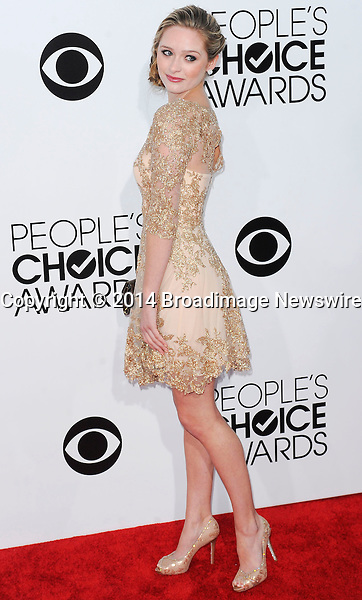 Pictured: Greer Grammer<br /> Mandatory Credit &copy; Adhemar Sburlati/Broadimage<br /> People's Choice Awards 2014 - Arrivals<br /> <br /> 1/8/14, Los Angeles, California, United States of America<br /> <br /> Broadimage Newswire<br /> Los Angeles 1+  (310) 301-1027<br /> New York      1+  (646) 827-9134<br /> sales@broadimage.com<br /> http://www.broadimage.com