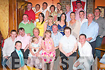 Rita Foley seated third from left celebrated 70th birthday with family and friends in Leen's Hotel on Saturday night...   Copyright Kerry's Eye 2008