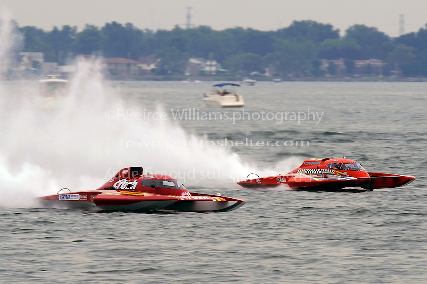 "Burt Henderson, GP-777 ""The Crush"" and Jimmy Shane, GP-10 ""The Charger"" (Grand Prix Hydroplane(s)"