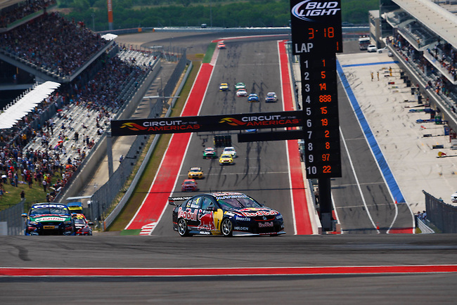 Race 15 of the 2013 V8 Supercar Championship Series at the Circuit of the Americas, Austin