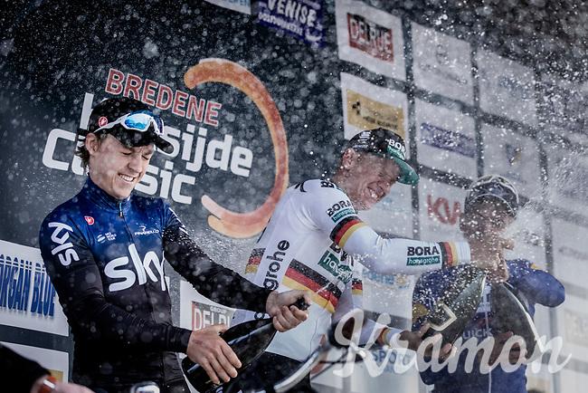 podium:<br /> <br /> 1. Pascal Ackermann (GER/Bora Hansgrohe)<br /> 2. Kristoffer Halvorsen (NOR/Team Sky)<br /> 3. Alvaro Hodeg (COL/Deceuninck Quick Step)<br /> <br /> Bredene Koksijde Classic (2019) ( former Handzame Classic )<br /> Bredene > Koksijde 199km (BEL)<br /> <br /> ©kramon