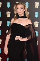 Natalie Dormer arriving for the BAFTA Film Awards 2018 at the Royal Albert Hall, London, UK. <br /> 18 February  2018<br /> Picture: Steve Vas/Featureflash/SilverHub 0208 004 5359 sales@silverhubmedia.com