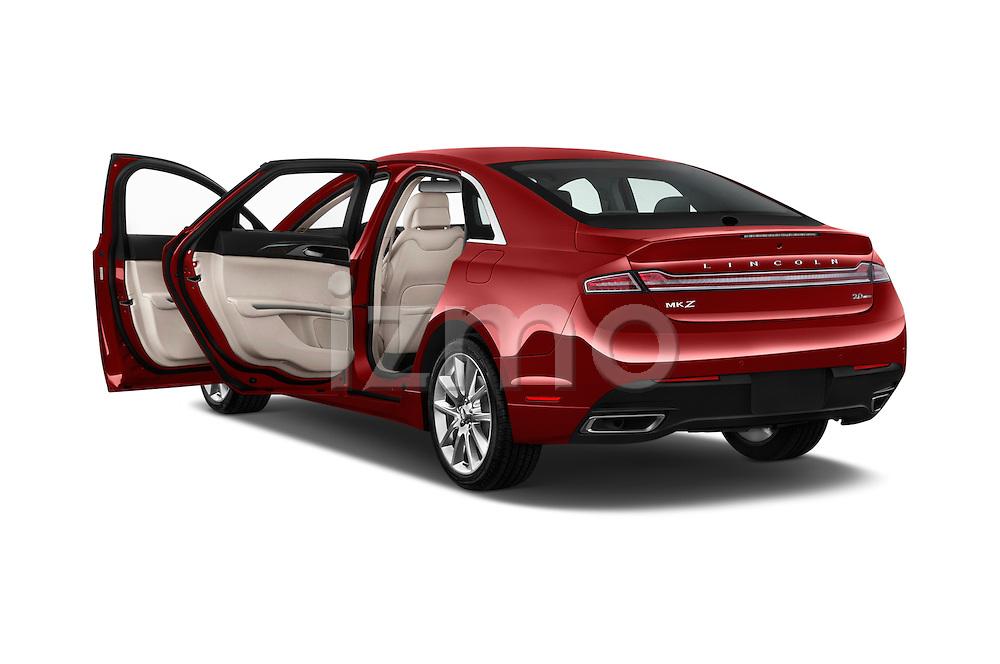 Car images of 2016 Lincoln MKZ - 4 Door Sedan Doors