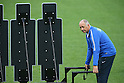 Luiz Felipe Scolari (BRA), <br /> JUNE 11, 2014 - Football /Soccer : <br /> 2014 FIFA World Cup Brazil <br /> Official Training of Brazil <br /> at Arena de Sao Paulo, Sao Paulo, Brazil. <br /> (Photo by YUTAKA/AFLO SPORT)