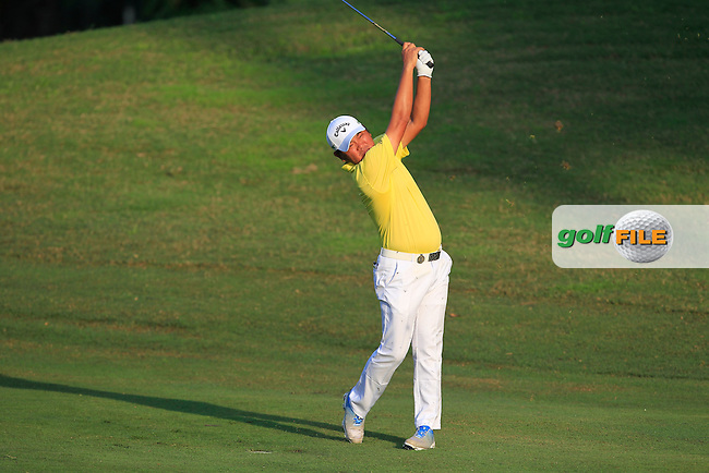 Danny Chai (MAS) on the 10th fairway during Round 2 of the Maybank Championship on Friday 10th February 2017.<br /> Picture:  Thos Caffrey / Golffile<br /> <br /> All photo usage must carry mandatory copyright credit      (&copy; Golffile | Thos Caffrey)