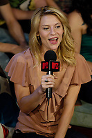 """Toronto (ON), July 25, 2007 - Hollywood actress and star Claire Danes on """"MTV Live"""" Wednesday, July 25 talking to hosts Daryn Jones and Jessi Cruickshank about the theatrical release of her latest film, Stardust, which hits theatres August 10th."""