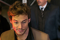 "British Actor SAM CLAFLIN attends the ""The Hunger Games: Mockingjay - Part 1"" premiere at Callao Cinema in Madrid, Spain. November 11, 2014. (ALTERPHOTOS/Carlos Dafonte)"