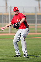 Jordan Smith. Cincinnati Reds spring training workouts at the Reds new complex, Goodyear, AZ - 02/19/2010.Photo by:  Bill Mitchell/Four Seam Images.
