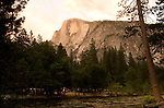Half Dome from Lower Pines Campground, Yosemite - 2011
