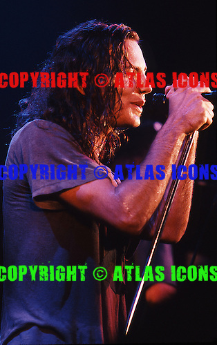 PEARL JAM: Live, In New York City, On April 12, 1992:.Photo Credit: Eddie Malluk/Atlas Icons.com