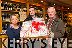 winner of the Kingdom Food and Wine Store Christmas hamper