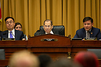 United States Representative Jerrold Nadler (Democrat of New York) at a hearing on the 9-11 Victims fund before the Judiciary subcommittee on Capitol Hill in Washington D.C. on June 11, 2019.<br /> <br /> Credit: Stefani Reynolds / CNP/AdMedia
