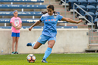 Bridgeview, IL - Sunday June 25, 2017: Jen Hoy during a regular season National Women's Soccer League (NWSL) match between the Chicago Red Stars and Sky Blue FC at Toyota Park. The Red Stars won 2-1.