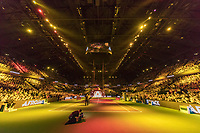 Rotterdam, The Netherlands, 18 February, 2018, ABNAMRO World Tennis Tournament, Ahoy, Performance of DJ Afrojack before the final<br /> <br /> Photo: www.tennisimages.com