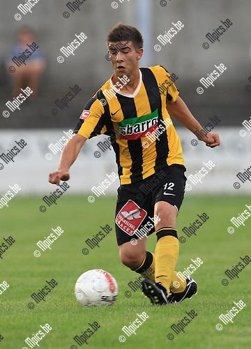 2010-06-21 / Voetbal / seizoen 2010-2011 / KFC Zwarte Leeuw / Glen Smet..Foto: mpics