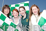 SUNSHINE: Enjoying the sunshine at the official opening of the Legion clubrooms on Saturday were Christina Tangney, Sarah OMahony, Paula Breen and Claire Tangney. .