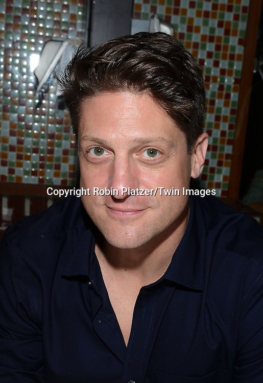 Christopher Sieber attends the 28th Annual  Broadway Cares/ Equity Fights Aids Flea Market and Auction on September 21,2014 in Shubert Alley in New York City. <br /> <br /> photo by Robin Platzer/Twin Images<br />  <br /> phone number 212-935-0770