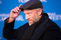Vincent Cassel gives a press conference at the19th Edition of Arras Film Festival - France