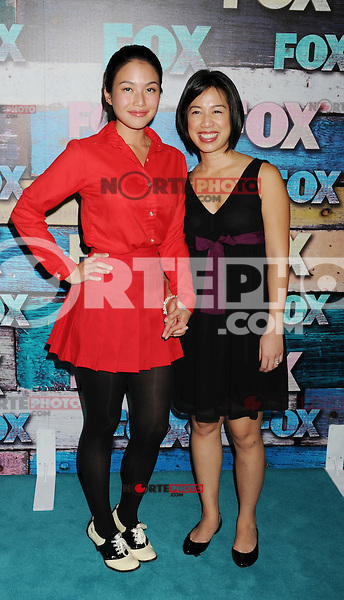 WEST HOLLYWOOD, CA - JULY 23: Felix Fang and Christine Ha arrive at the FOX All-Star Party on July 23, 2012 in West Hollywood, California. / NortePhoto.com<br />