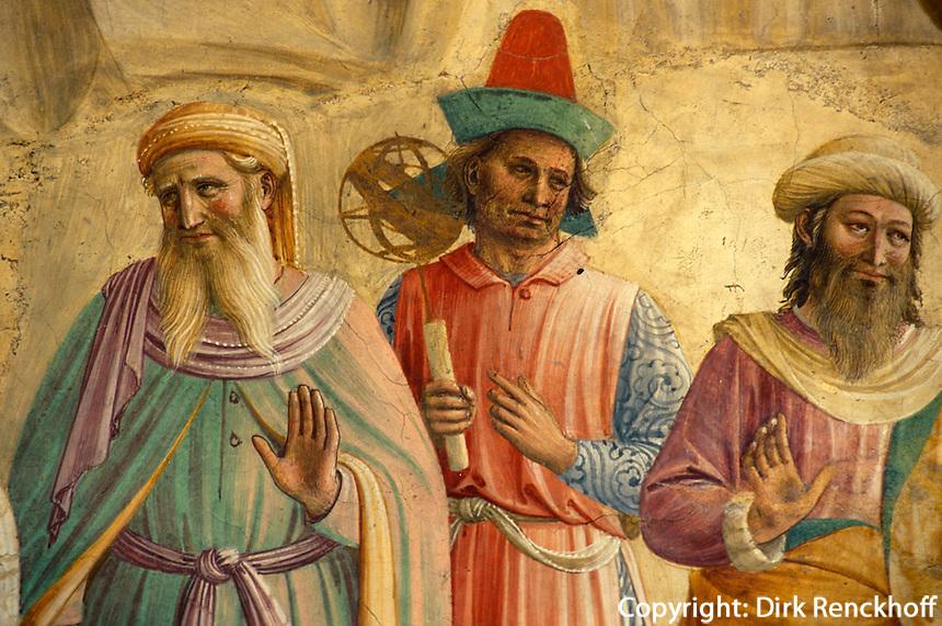 Museum San Marco, Fresken von Fra Angelico, Florenz, Toskana, Italien, Unesco-Weltkulturerbe