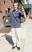 July 11, 2012 Moody McCarthy stand-up comedian at Late Show with David Letterman in New York City. &copy; RW/MediaPunch Inc. *NORTEPHOTO*<br /> **SOLO*VENTA*EN*MEXICO**<br /> **CREDITO*OBLIGATORIO** <br /> **No*Venta*A*Terceros**<br /> **No*Sale*So*third**<br /> *** No*Se*Permite Hacer Archivo**<br /> **No*Sale*So*third**