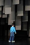 HISTOIRE PAR CELUI QUI LA RACONTE....Choregraphie : Latifa Laabissi..Decor : LAURO Nadia..Lumiere : FOUASSIER Yannick..Costumes : LAURO Nadia..Avec :..BATUT Jessica..FOUASSIER Simeon..LAABISSI Latifa..STEIJN Robert..Lieu : Centre Georges Pompidou..Cadre : Festival d'Automne a Paris..Ville : Paris..Le : 09 12 2008..© copyright Laurent Paillier / photosdedanse.com..All rights reserved
