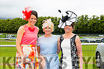 Having a great day out at the Killarney Races were l-r Loretta Maher, Killarney,Denise O'Sullivan, Killarney and Denise Walsh, Killarney