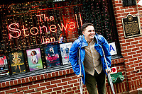 NEW YORK, NY - JUNE 18: A man visits the historical landmark Tavern The Stonewall Inn on June 18, 2019 in New York. The Stonewall riots were a series of violent demonstrations by members of the gay (LGBT) community against a police raid starting June 28, 1969, at the Stonewall Inn at the Greenwich Village neighborhood of Manhattan, . (Photo by STRKB/VIEWpress)