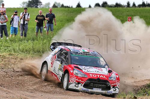 02.07.2016. Mikolajki, Poland. WRC Rally of Poland, stages 12-17.  BREEN