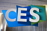 LAS VEGAS, NV - JANUARY 10:  CES 2019 sign in Las Vegas, Nevada on January 10, 209. Credit: Damairs Carter/MediaPunch