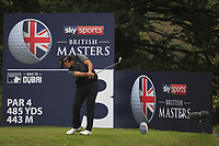 Gavin Green (MAS) on the 3rd tee during Round 2 of the Sky Sports British Masters at Walton Heath Golf Club in Tadworth, Surrey, England on Friday 12th Oct 2018.<br /> Picture:  Thos Caffrey | Golffile<br /> <br /> All photo usage must carry mandatory copyright credit (&copy; Golffile | Thos Caffrey)