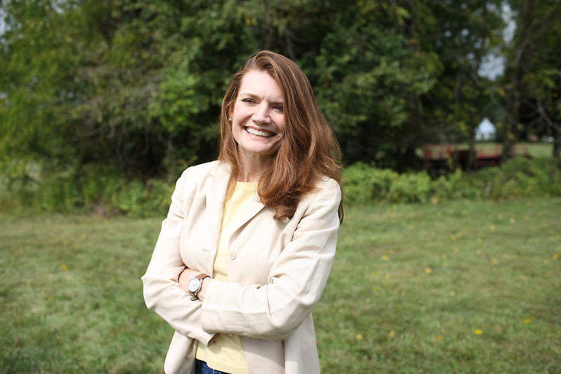 "{September 18, 2009} {11am} -- Culpeper, VA. -- Jeannette Walls is the author of ""Half-Broke Horses: A True Life Novel."" The book is about her grandmother who was a wild west woman who broke horses.. -- ...Photo by Andrew B. Shurtleff, Freelance."