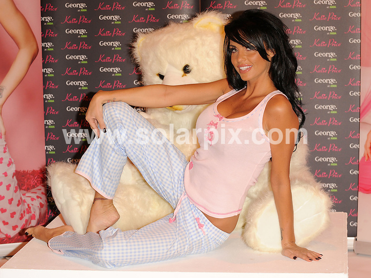 **ALL ROUND PICTURES FROM SOLARPIX.COM**.**WORLDWIDE SYNDICATION RIGHTS**.The glamour model Katie Price launches her new range of nightwear at the Worx studios, Parsons Green, London. ..JOB REF:8170-SSD     DATE:17-12-08.**MUST CREDIT SOLARPIX.COM OR DOUBLE FEE WILL BE CHARGED* *ONLINE USAGE FEE £50.00 PER PICTURE - NOTIFICATION OF USAGE TO PHOTO@SOLARPIX.COM*