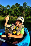 BRIDGER GLANDA SEVEN YRS OLD FLY FISHING