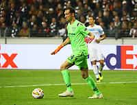 Torwart Silvio Proto (Lazio Rom) - 04.10.2018: Eintracht Frankfurt vs. Lazio Rom, UEFA Europa League 2. Spieltag, Commerzbank Arena, DISCLAIMER: DFL regulations prohibit any use of photographs as image sequences and/or quasi-video.