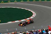 June 9th 2017, Montreal, Canada; Formula 1 Grand prix of Canada, Free practise day;  Daniel Ricciardo - Red Bull Racing RB13