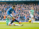 11.3.2018: Rangers v Celtic:<br /> Josh Windass scores for Rangers