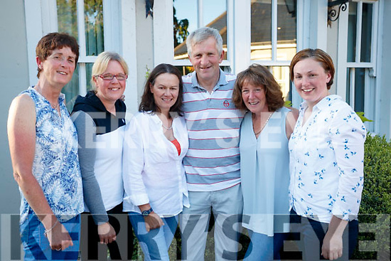 Siobhan Clear, Annie Horgan, Lorraine Hopkins, Tom Clear, Hazel Reid and Caitriona Kelly, pictured at the Chain Gang Cycling Club Barbecue, held at the Meadowlands, Tralee on Saturday night last.