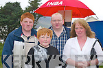 ODDS ON: Joseph ODonoghue, Philip ODonoghue, Eric ODonoghue and Paula ODonoghue at the Caherciveen races on Sunday.