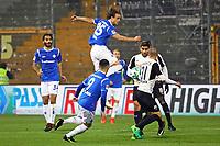 Yannick Stark (SV Darmstadt 98) und Jamie MacLaren (SV Darmstadt 98) werden eingewechselt in der 1. Halbzeit und sorgen sofort für Gefahr - 17.11.2017: SV Darmstadt 98 vs. SV Sandhausen, Stadion am Boellenfalltor, 2. Bundesliga