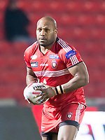Picture by Allan McKenzie/SWpix.com - 16/03/2018 - Rugby League - Betfred Super League - Salford Red Devils v Hull FC - AJ Bell Stadium, Salford, England - Robert Lui.