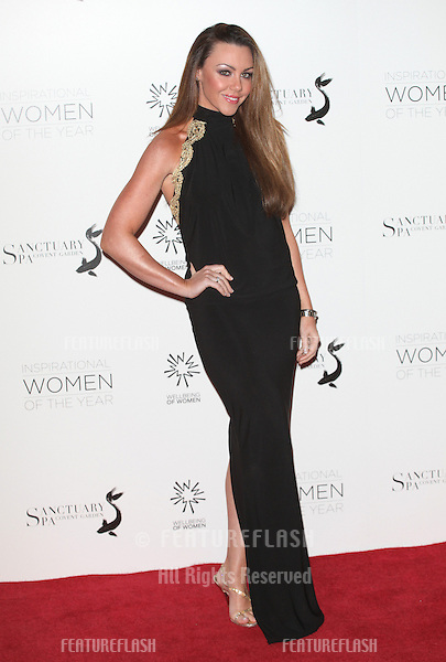Michelle Heaton arriving for the Daily Mail Inspirational Women of the Year Awards in support of Wellbeing of Women held at the Marriott Hotel, London. 12/11/2012 Picture by: Alexandra Glen / Featureflash