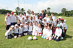 4th Class at Donacarney Girls NS Sports Day at Pilltown Club House...Photo NEWSFILE/Jenny Matthews.(Photo credit should read Jenny Matthews/NEWSFILE)....This Picture has been sent you under the condtions enclosed by:.Newsfile Ltd..The Studio,.Millmount Abbey,.Drogheda,.Co Meath..Ireland..Tel: +353(0)41-9871240.Fax: +353(0)41-9871260.GSM: +353(0)86-2500958.email: pictures@newsfile.ie.www.newsfile.ie.FTP: 193.120.102.198.