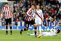 Real Madrid CF vs Athletic Club de Bilbao (5-1) at Santiago Bernabeu stadium. The picture shows Ander Iturraspe. November 17, 2012. (ALTERPHOTOS/Caro Marin) NortePhoto