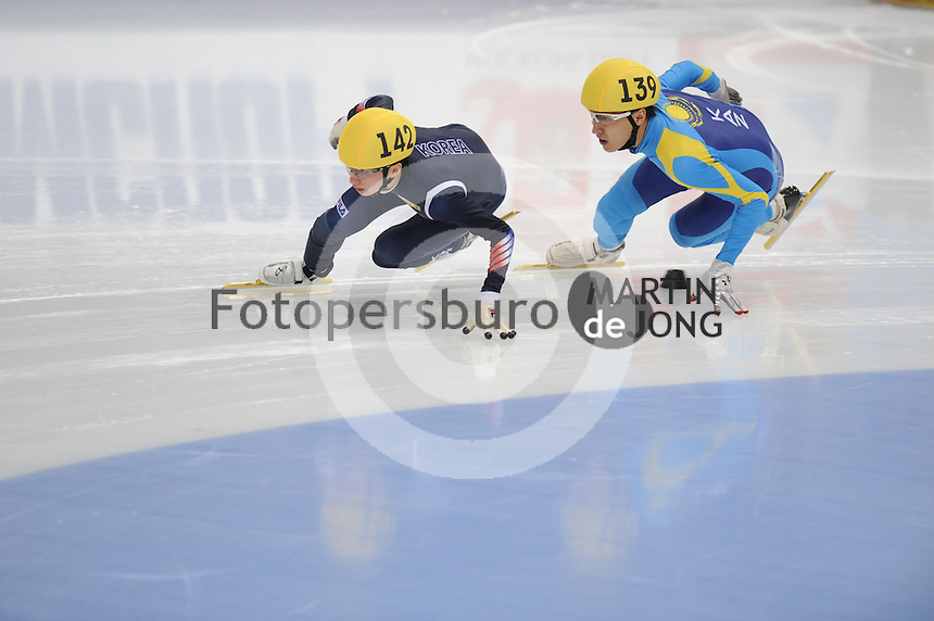 "SHORT TRACK: MOSCOW: Speed Skating Centre ""Krylatskoe"", 13-03-2015, ISU World Short Track Speed Skating Championships 2015, Se Yeong PARK (#142 