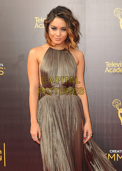 LOS ANGELES, CA - SEPTEMBER 11: Vanessa Hudgens at the 2016 Creative Arts Emmys at the Microsoft Theater on September 11, 2016 in Los Angeles, California. <br /> CAP/MPI99<br /> &copy;MPI99/Capital Pictures
