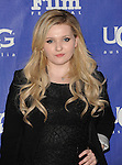 Abigail Breslin arriving at the 29th Santa Barbara International Film Festival, which honored Oprah Winfrey With The Montecito Award, held at the Arlington Theatre on February 5, 2014
