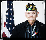 Veteran  Butch Babb poses for a photo at a Veterans Day Program at the Oxford Conference Center in Oxford, Miss. on Thursday, November 11, 2010.