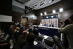 England's Gareth Southgate and Joe Hart during their press conference at Tottenham Hotspur training centre, London. Picture date November 14th, 2016 Pic David Klein/Sportimage